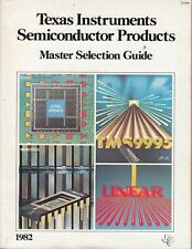 TI Texas Instruments - Semiconductor Products - Master Selection Guide 1982