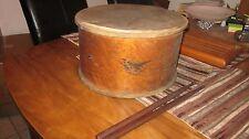 1880 Antique US Army Field Drums w/ sticks-Good Cond.E Pluribus Unum-H Crammatte