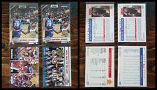 Michael Jordan 1993-94 NBA Hoops 5th Anniversary Lot x4 #257 #289
