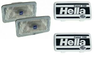 LAND ROVER DEFENDER 1987-2006 & RR CLASSIC 1987-1995 RECTANGULAR FOG LIGHTS PAIR