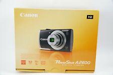 Canon PowerShot A2600 16 Megapixel Digital Camera - Open Box