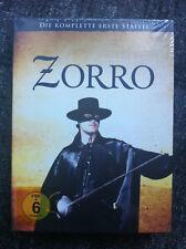ZORRO - SEASON 1 - DVD Region 2/UK - Guy Williams - 7 Discs - Disney - colorized