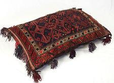 110x72 cm Kissen orientteppich afghan Nomaden sitzkissen bodenkissen cushion 16C