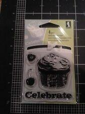 Cupcake Inkadinkado Clear Stamps set