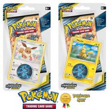 Pokemon Unbroken Bonds 1 Pack Blister Twinpack ft. Pikachu & Eevee New Sealed
