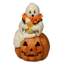 Bethany Lowe Candy Corn Ghost Halloween Party Retro Vntg Home Decor Figurine