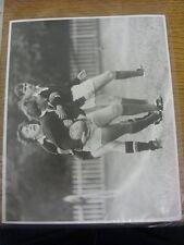 02/10/1982 Rugby Union Press Photo: Northampton v London Scottish - Northampton'