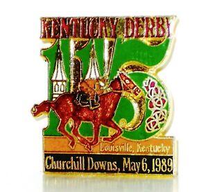 1989 - 115th Kentucky Derby Official Lapel Pin - MINT