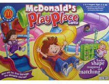 Playplace Mcdonald's Restaurant Board Game Shape matching Preschool Collectible