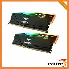 Team DELTA RGB 16GB DDR4 3000 Mhz Gaming Memory 2x 8GB RAM Desktop 24000 Black