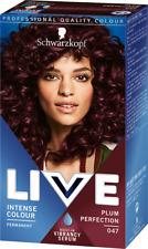 Schwarzkopf Professional Live Intense Colours | Permanent Hair Dye | Free uk