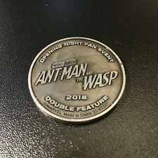 2018 Marvel Ant-Man and The Wasp Double Feature Exclusive Theater Fan Promo Coin