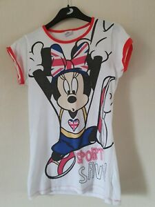 Girls Minnie Mouse Top, Age 13-14 Years, Disney, Sports