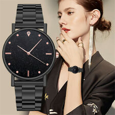 Luxury Womens Ladies Quartz Watch Stainless Steel Dial Casual Bracele Watches bl