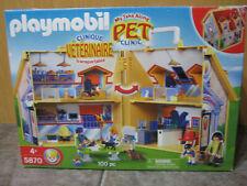Playmobil Pet Vet Clinic Hospital Center My Take Along Retired in 2005