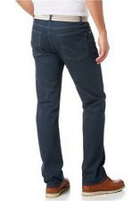 Arizona Jeans NEU K-Gr.24-28 Herren Gerade Hose Used Blau Denim L30 Blue 48-56