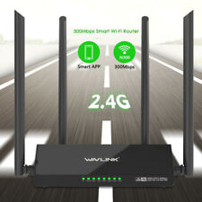 Wavlink N300 Wifi Router,Wireless Smart Access Point with 4 External Antennas