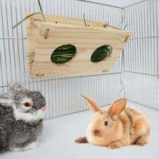Rabbit Hay Feeder Hay Hamster Manger Rack Holder Food Dispenser for Guinea Pig-