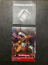 Digimon Card Game ST1-09 MetalGreymon R Promo Tournament Pack Vol. 2 ENGLISH NM