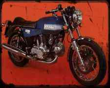 Ducati 860Gts 76 A4 Metal Sign Motorbike Vintage Aged