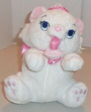 ARISTOCATS Disney Plush Stuffed Animal Baby MARIE w/Binky Pacifier in Mouth RARE