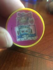 Vintage Transformers Soundwave Flicker Ring 1980's Yellow