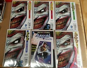 Death of the Family Crossover Lot Batman New 52 (2011) NM 14 Issues