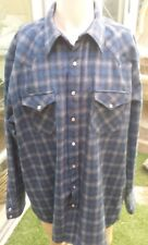 Pendleton 1959 Archives Inspired Shadow Plaid Canyon Shirt 100% Wool XXL Long