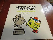 Large Size Mister Men Book LITTLE MISS SPLENDID and the Present