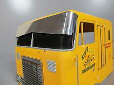 Aluminum Bowtie Sun Visor Block Plate for Tamiya RC 1/14 GlobeLiner Semi Truck