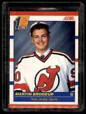 1990-91 Score Martin Brodeur Rookie #439