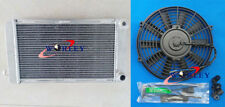 FOR MG MIDGET 1500 MT 1974-1980 1979 1978 77 ALUMINUM RADIATOR +FAN