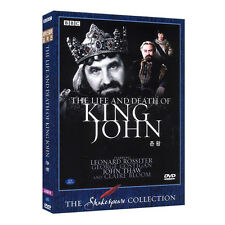 The Life and Death of King John (1984) BBC Shakespeare DVD - David Giles (*New)