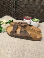 Birkenstock Men's Arizona Slide Sandal: Size 43 (R): Brown (26)