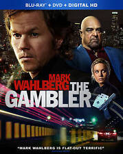 The Gambler (Blu-ray/DVD, 2015, 2-Disc Set, Includes Digital Copy) NEW