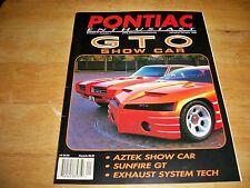 PONTIAC ENTHUSIAST VOLUME 5 NUMBER 1 1999