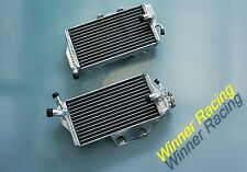 BRACED aluminum radiator for Honda CR 250 R/CR250R 2005 2006 2007 Right+Left