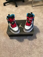 jordan spizike men's 7.5 worn twice. I've had these shoes for over five years