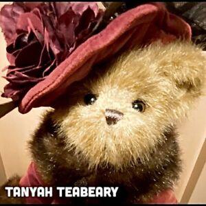 """TANYAH TEABEARY 14"""" Collectible BEARINGTON BEAR - RARE!!"""