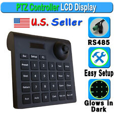 3D PTZ Speed Dome Keyboard Controller CCTV Security Camera RS485 Joystick 2 Axis