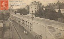64 PAU CARTE POSTALE BOULEVARD DES PYRENEES 1909