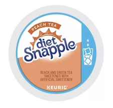 Snapple Diet Peach Iced Tea Keurig K-Cups 44 Count - FREE SHIPPING
