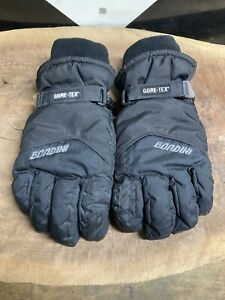 Gore-Tex Ski Gloves Black Mens L Gordini