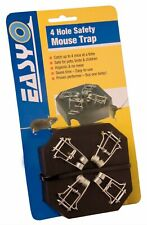 Easy O 4 in 1 Multiple Mouse Trap Plastic Safe to Use
