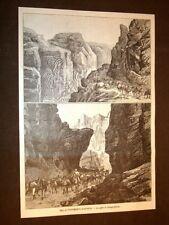 Guerra in Africa nel 1896 Le Gole di Adaga - Amus