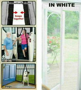 Magnet Insektenschutz Tür Fliegengitter Magnetvorhang Mückenschutz für Türen