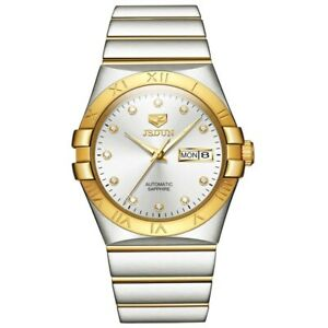Omega Constellation Automatic Chronometer Speedmaster  Gold Mens Watch
