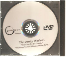"""THE DANDY WARHOLS """"We Used To Be Friends / Welcome To The Monkey...""""  PROMO DVD"""