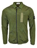 Stone Island Green Nylon Metal Overshirt Jacket BNWT RRP £295