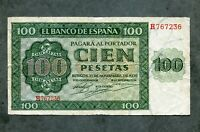 billete 100 PESETAS 1936   H 767236  MBC